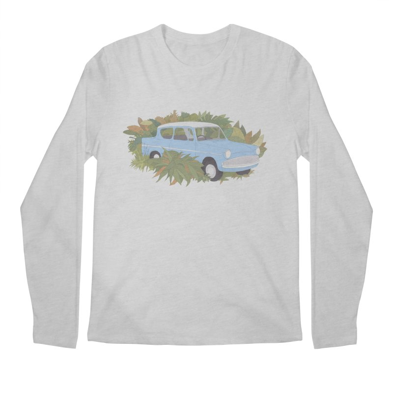 Anglia Men's Longsleeve T-Shirt by Corsac's Artist Shop