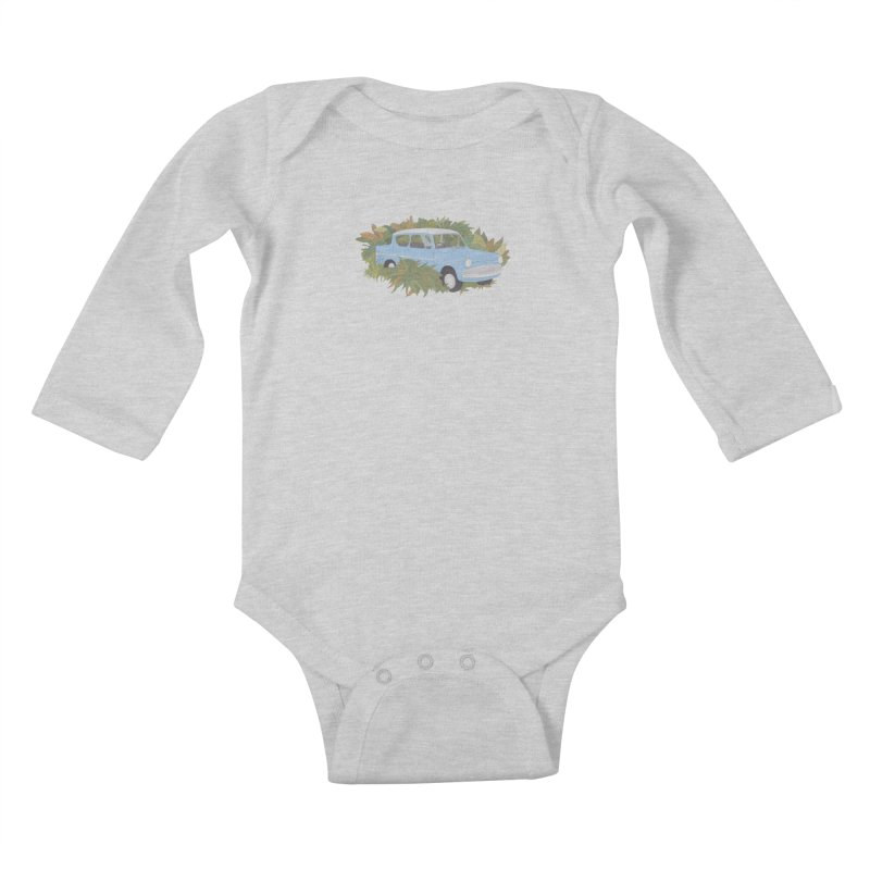 Anglia Kids Baby Longsleeve Bodysuit by Corsac's Artist Shop