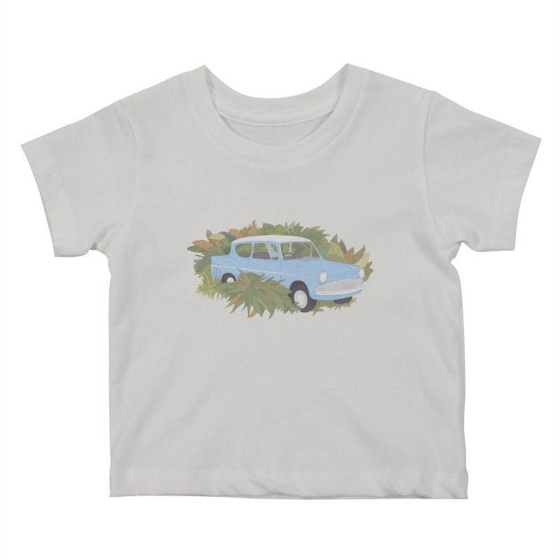 Anglia Kids Baby T-Shirt by Corsac's Artist Shop