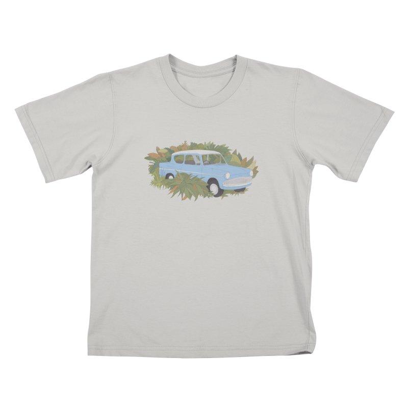 Anglia Kids T-shirt by Corsac's Artist Shop