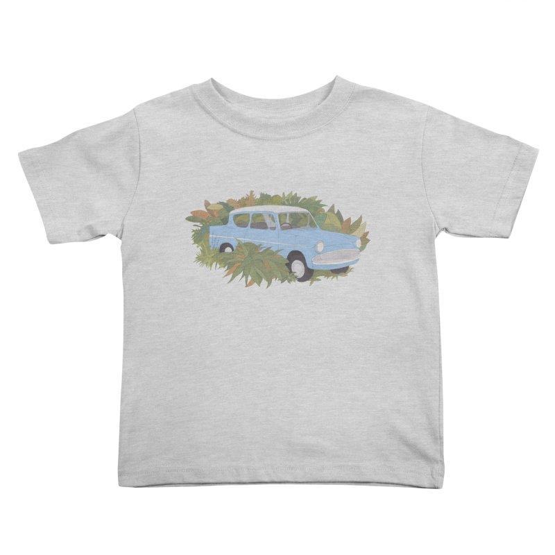 Anglia Kids Toddler T-Shirt by Corsac's Artist Shop