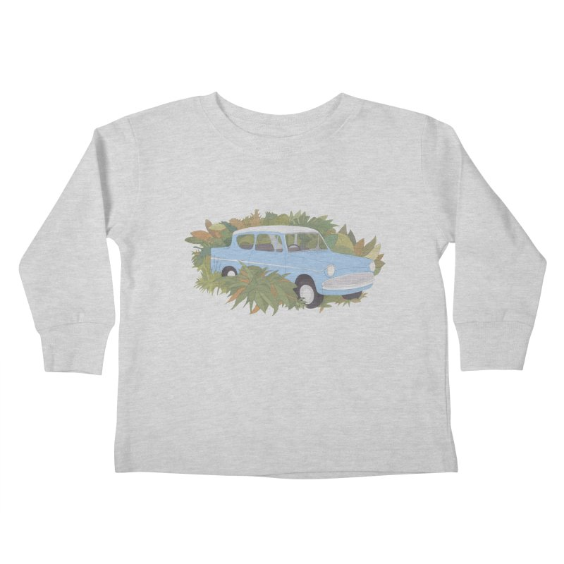 Anglia Kids Toddler Longsleeve T-Shirt by Corsac's Artist Shop