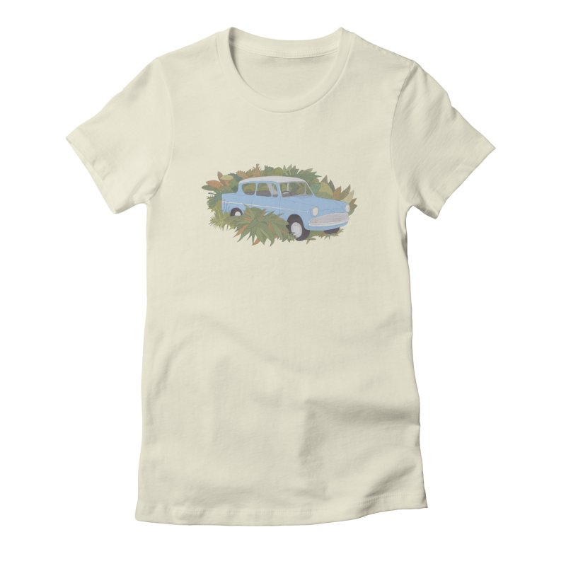 Anglia Women's Fitted T-Shirt by Corsac's Artist Shop