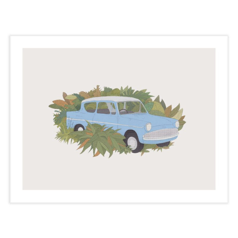 Anglia Home Fine Art Print by Corsac's Artist Shop