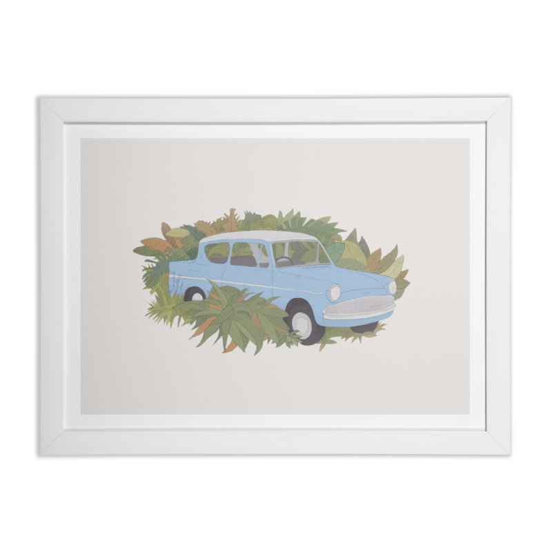 Anglia Home Framed Fine Art Print by Corsac's Artist Shop