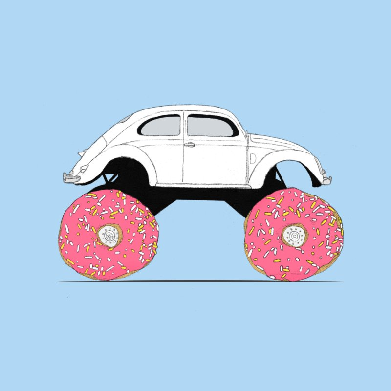 Trunkin' Donuts   by Corsac's Artist Shop