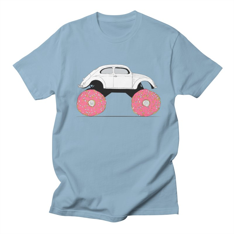 Trunkin' Donuts Men's Regular T-Shirt by Corsac's Artist Shop