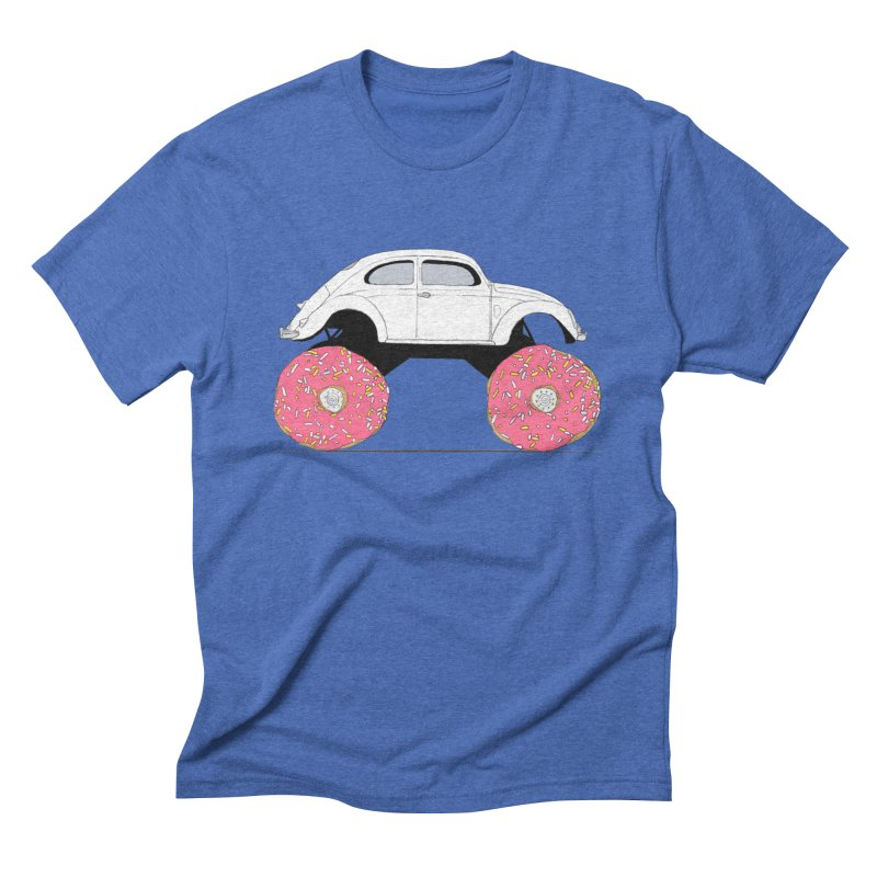 Trunkin' Donuts Men's Triblend T-Shirt by Corsac's Artist Shop