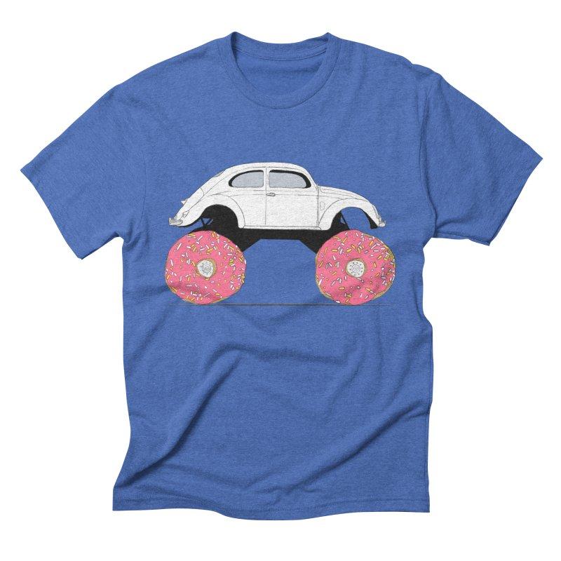 Trunkin' Donuts Men's Triblend T-shirt by Corsac's Artist Shop