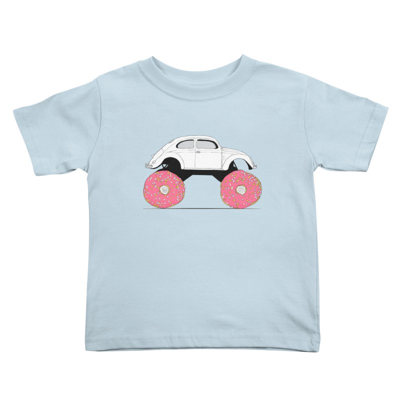 Trunkin' Donuts Kids Toddler T-Shirt by Corsac's Artist Shop