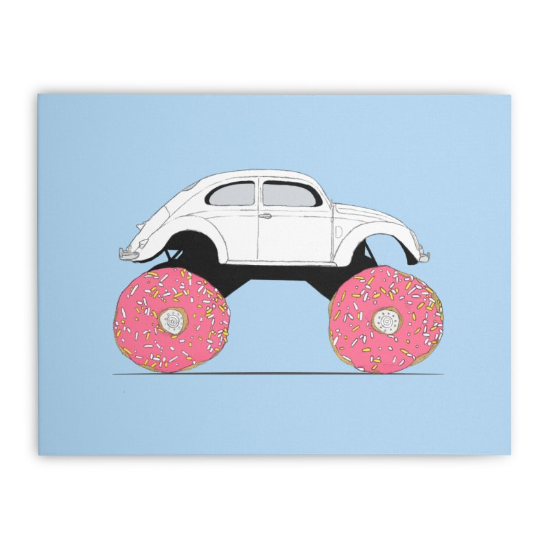 Trunkin' Donuts Home Stretched Canvas by Corsac's Artist Shop
