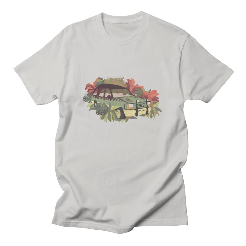 Jurassic Car Men's T-Shirt by Corsac's Artist Shop