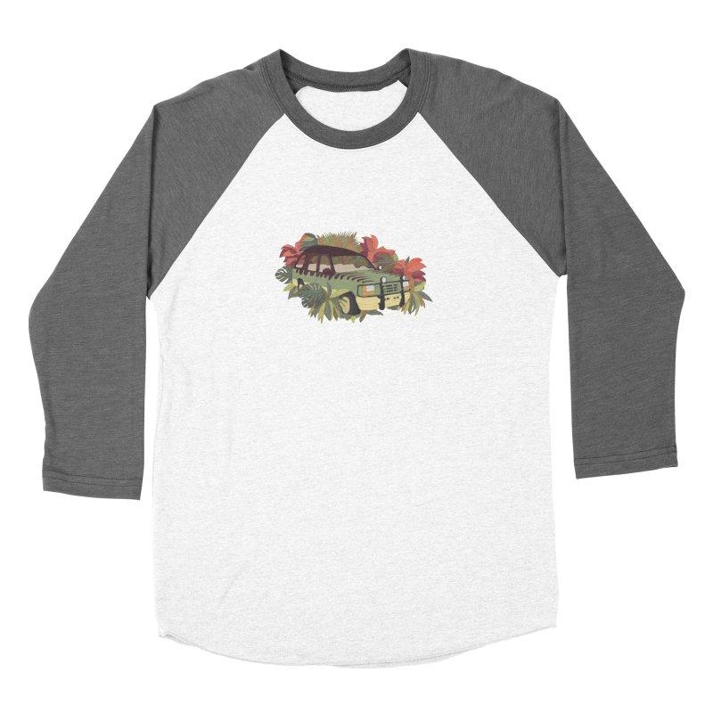 Jurassic Car Men's Baseball Triblend Longsleeve T-Shirt by Corsac's Artist Shop