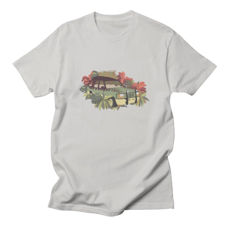 Jurassic Car Men's Regular T-Shirt by Corsac's Artist Shop