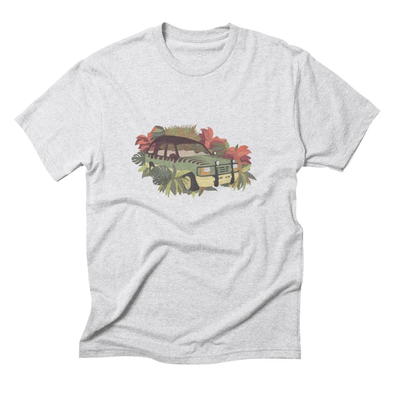 Jurassic Car Men's Triblend T-Shirt by Corsac's Artist Shop