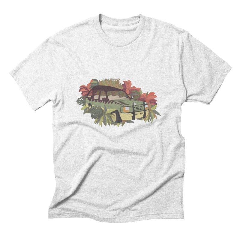 Jurassic Car Men's Triblend T-shirt by Corsac's Artist Shop