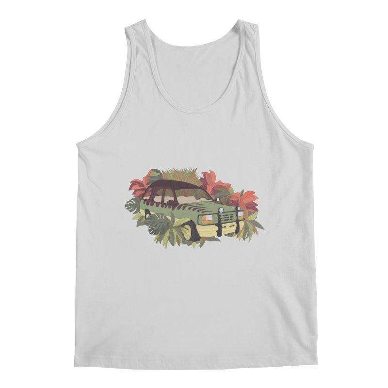 Jurassic Car Men's Regular Tank by Corsac's Artist Shop
