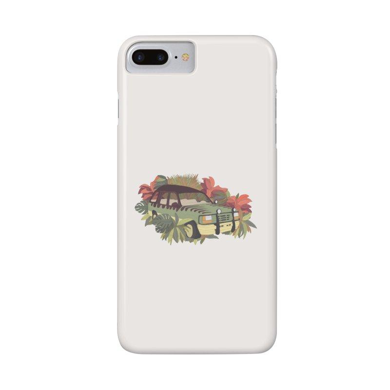 Jurassic Car Accessories Phone Case by Corsac's Artist Shop