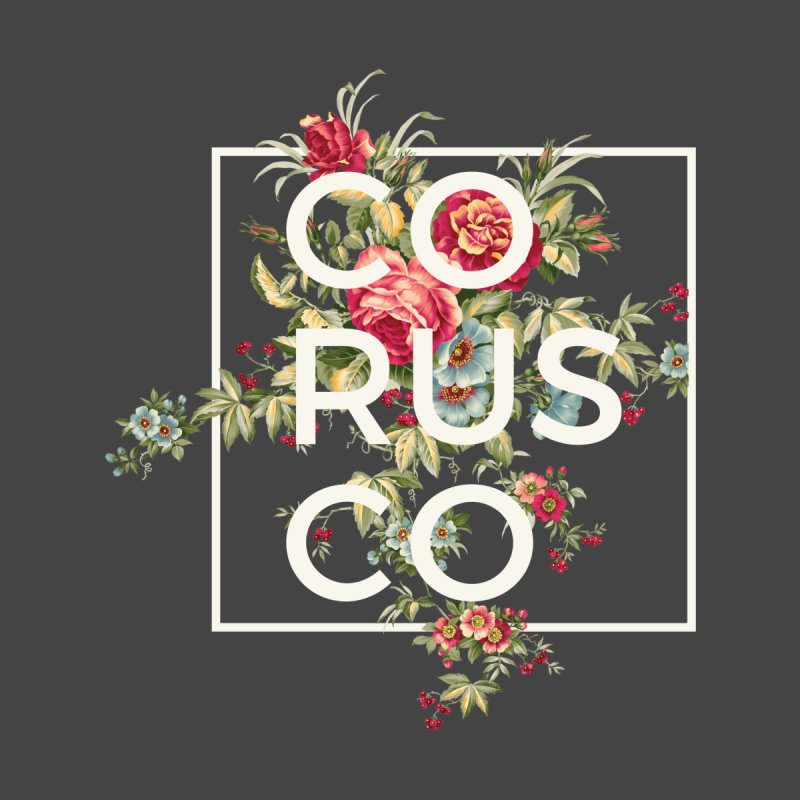 Flowers (White) Men's T-Shirt by Corusco Merch