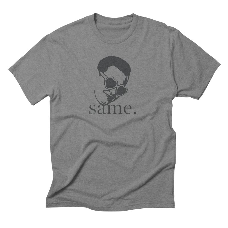 Same Baby Nic Men's Triblend T-Shirt by Corusco Merch