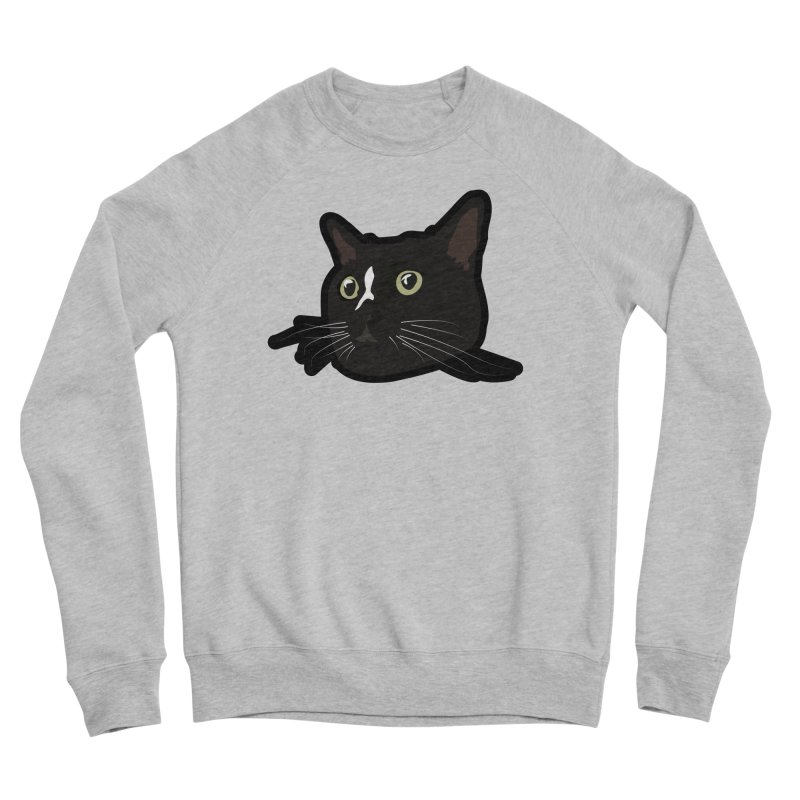 Tuxedo cat Men's Sponge Fleece Sweatshirt by Cory & Mike's Artist Shop