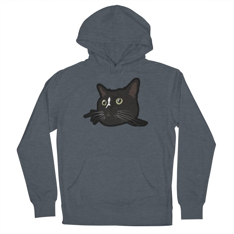 Tuxedo cat Men's French Terry Pullover Hoody by Cory & Mike's Artist Shop