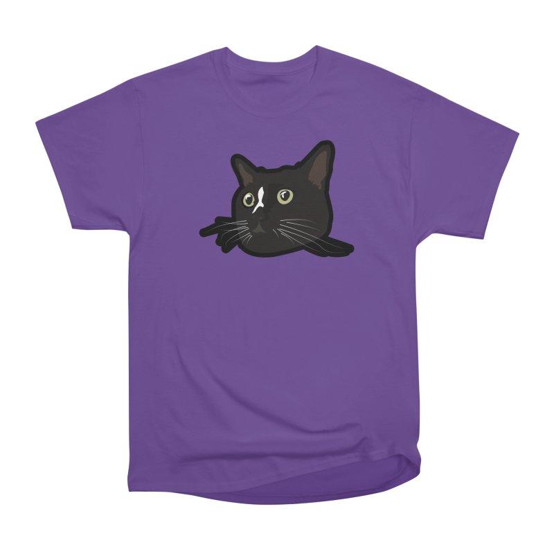 Tuxedo cat Men's Heavyweight T-Shirt by Cory & Mike's Artist Shop