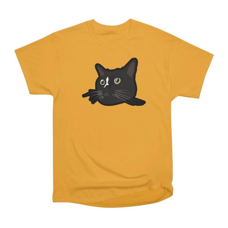 Tuxedo cat Women's Heavyweight Unisex T-Shirt by Cory & Mike's Artist Shop