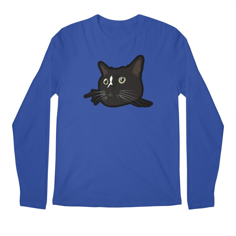 Tuxedo cat Men's Regular Longsleeve T-Shirt by Cory & Mike's Artist Shop