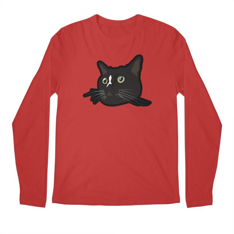 Tuxedo cat Men's Regular Longsleeve T-Shirt by Cory & Mike's Artist Shop