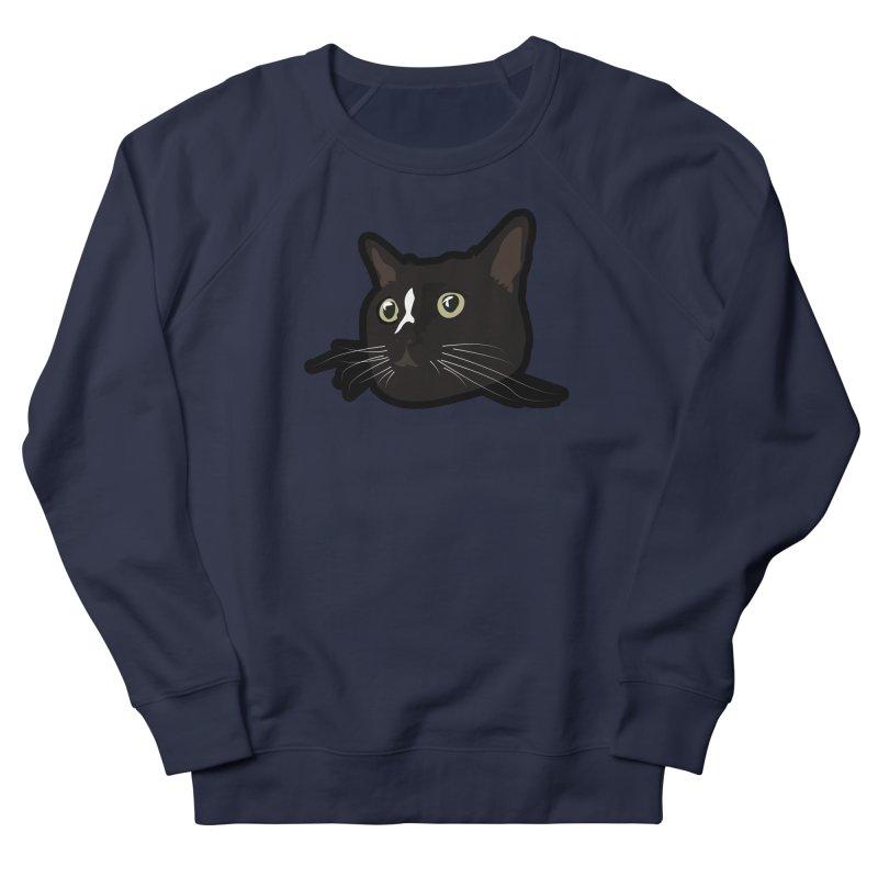 Tuxedo cat Women's French Terry Sweatshirt by Cory & Mike's Artist Shop