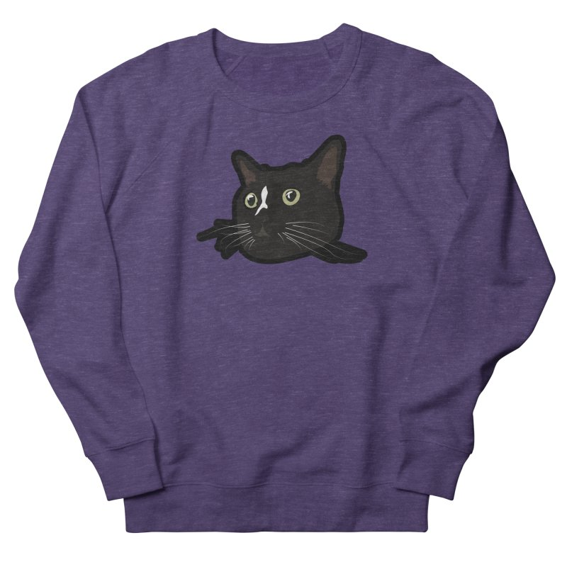 Tuxedo cat Men's French Terry Sweatshirt by Cory & Mike's Artist Shop