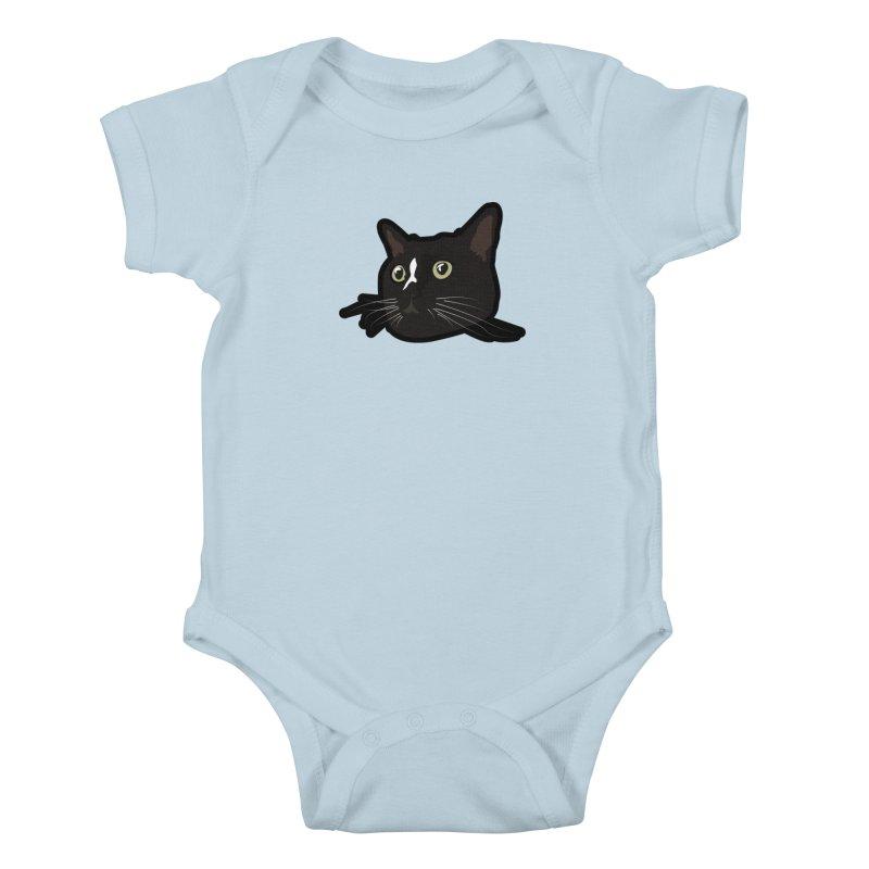 Tuxedo cat Kids Baby Bodysuit by Cory & Mike's Artist Shop