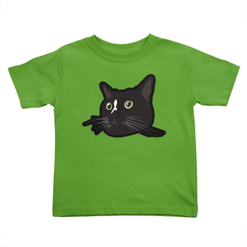 Tuxedo cat Kids Toddler T-Shirt by Cory & Mike's Artist Shop