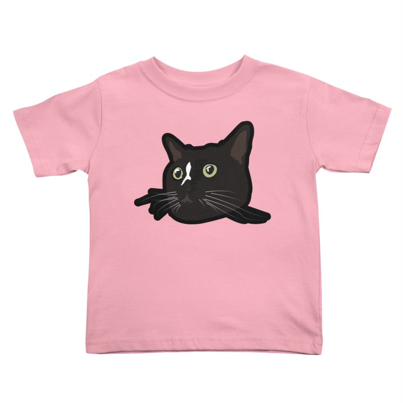 Tuxedo cat Kids Toddler T-Shirt by Cory & Mike's Artist Shop