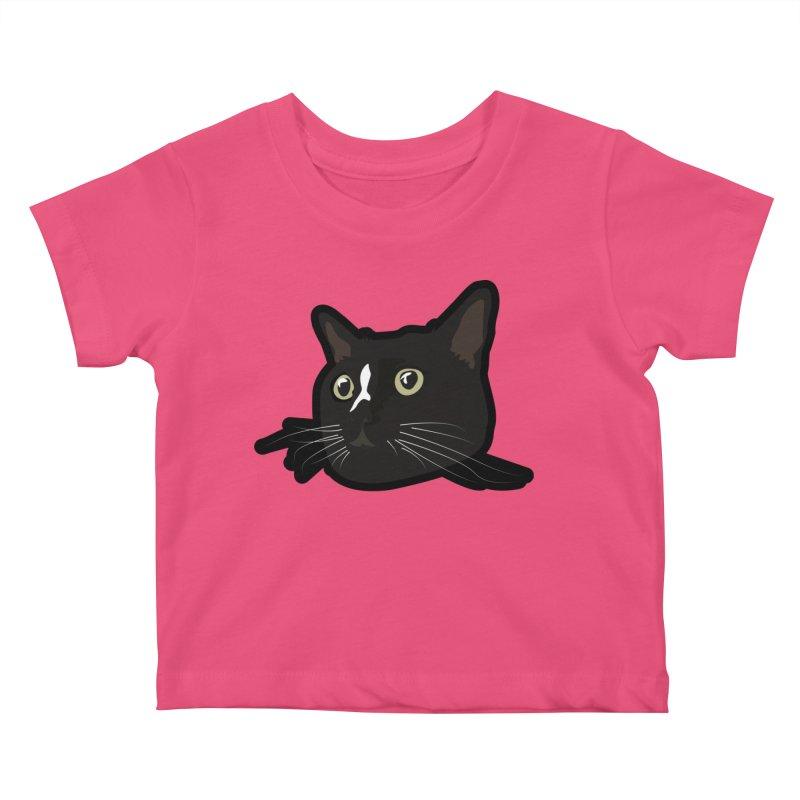 Tuxedo cat Kids Baby T-Shirt by Cory & Mike's Artist Shop