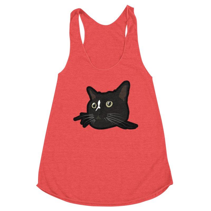 Tuxedo cat Women's Tank by Cory & Mike's Artist Shop
