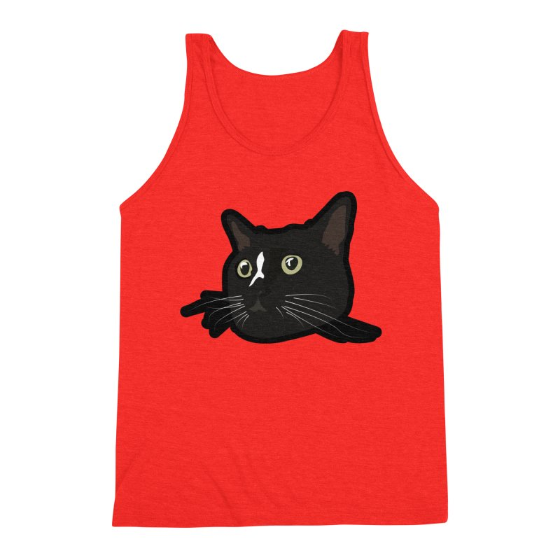Tuxedo cat Men's Tank by Cory & Mike's Artist Shop