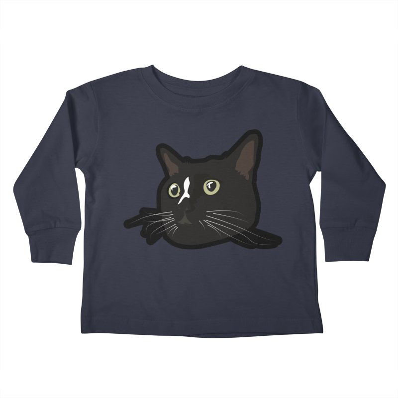 Tuxedo cat Kids Toddler Longsleeve T-Shirt by Cory & Mike's Artist Shop