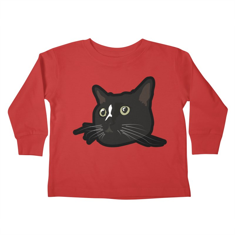 Tuxedo cat Kids Toddler Longsleeve T-Shirt by Cory & Mike's Artist Shop