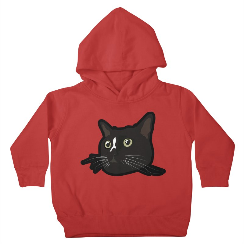 Tuxedo cat Kids Toddler Pullover Hoody by Cory & Mike's Artist Shop