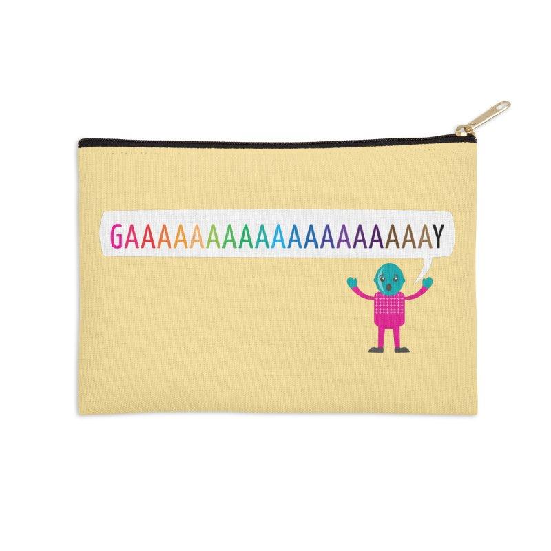 GAAAAAAAAAAAAAAAAAAAY Accessories Zip Pouch by Cory & Mike's Artist Shop