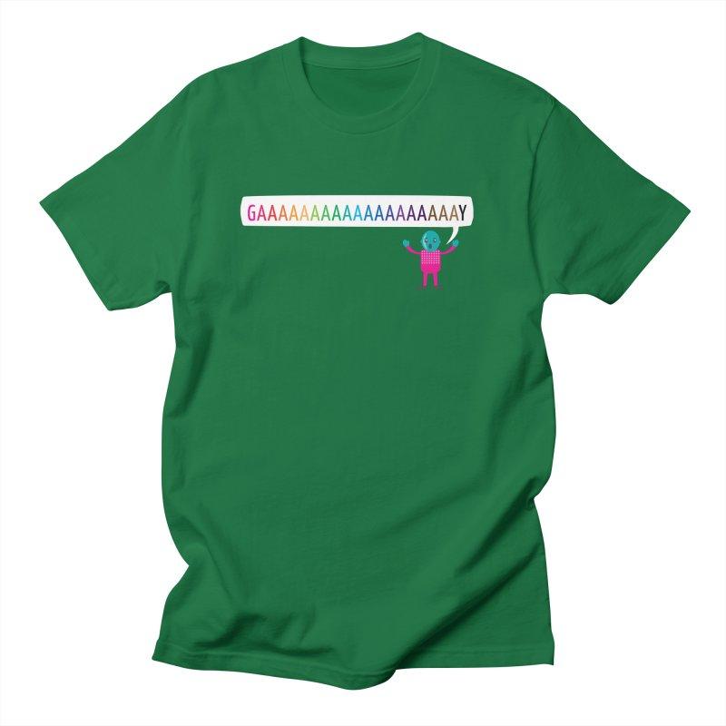 GAAAAAAAAAAAAAAAAAAAY Men's T-Shirt by Cory & Mike's Artist Shop