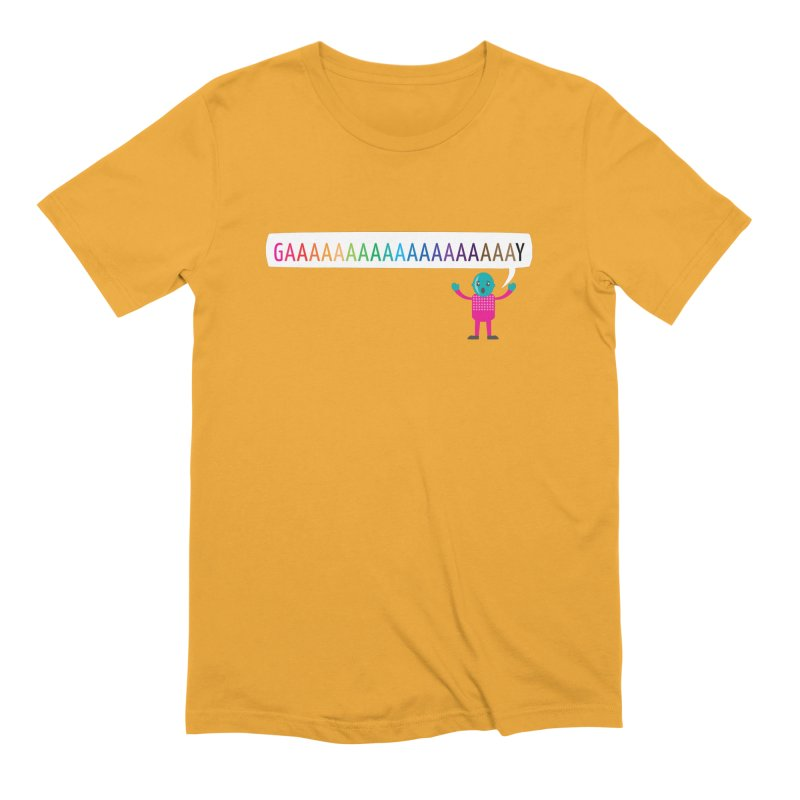 GAAAAAAAAAAAAAAAAAAAY Men's Extra Soft T-Shirt by Cory & Mike's Artist Shop