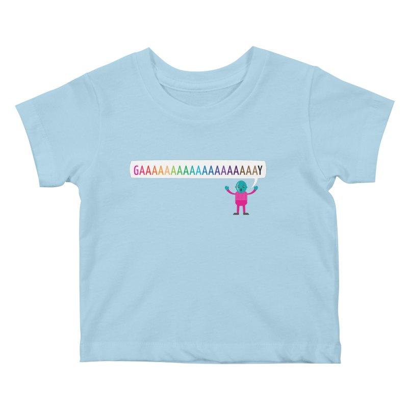 GAAAAAAAAAAAAAAAAAAAY Kids Baby T-Shirt by Cory & Mike's Artist Shop