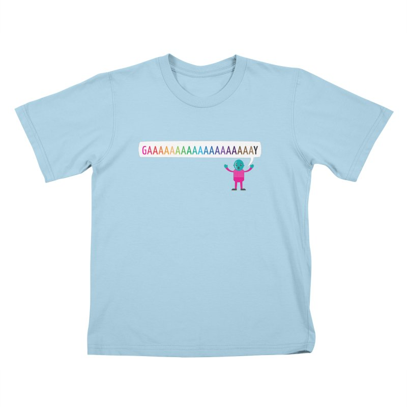 GAAAAAAAAAAAAAAAAAAAY Kids T-Shirt by Cory & Mike's Artist Shop
