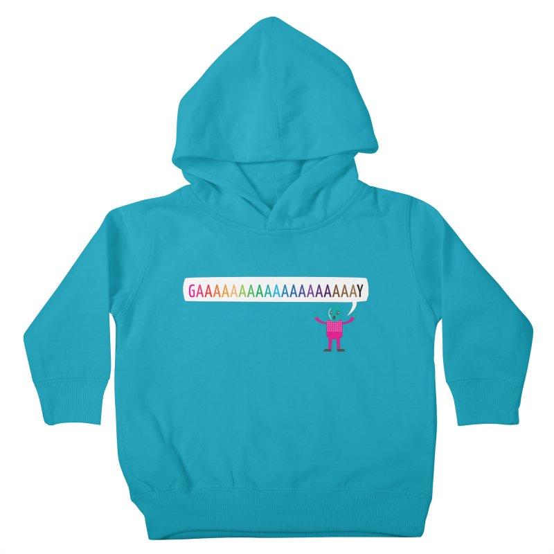 GAAAAAAAAAAAAAAAAAAAY Kids Toddler Pullover Hoody by Cory & Mike's Artist Shop