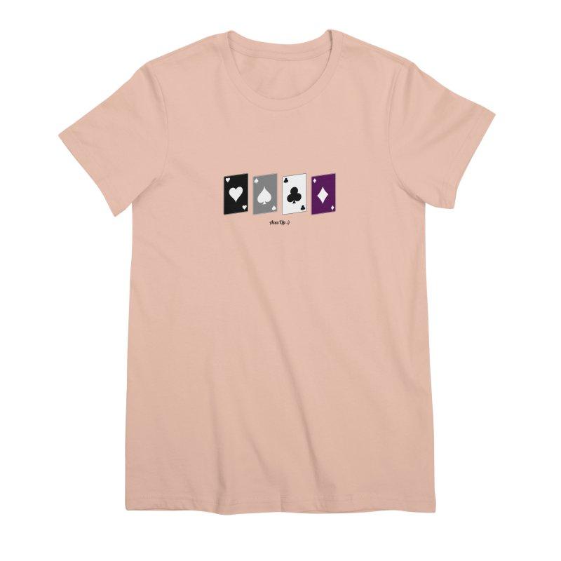 Aces Up :) Women's Premium T-Shirt by Cory & Mike's Artist Shop