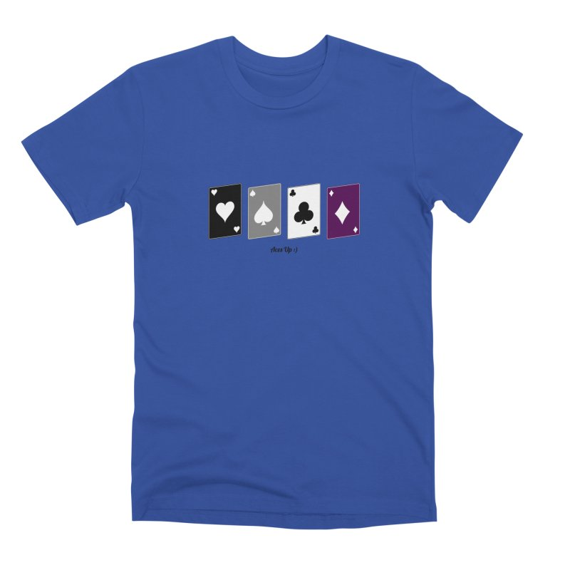 Aces Up :) Men's Premium T-Shirt by Cory & Mike's Artist Shop