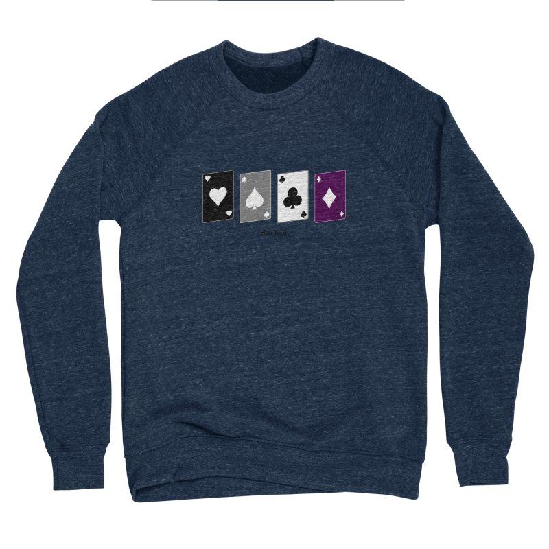 Aces Up :) Men's Sponge Fleece Sweatshirt by Cory & Mike's Artist Shop
